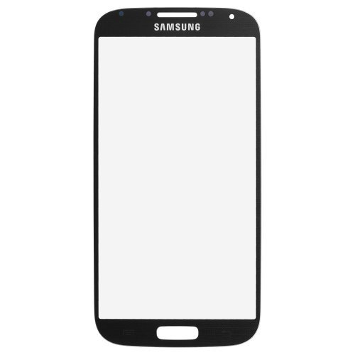 Black Mist Samsung Galaxy S4 i9500 Replacement Front Screen Glass Lens & - To Repair How Scratched Lenses