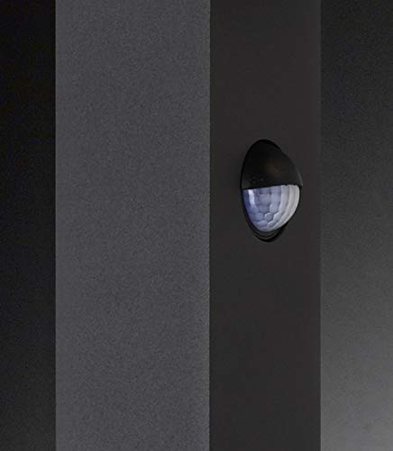 WOFI lampe dext/érieur-line s/érie brooklyn 1 ampoule lED 6 w 15 x 85 x 6 cm 3000 k 430 lm 3830.01.88.0850 anthracite