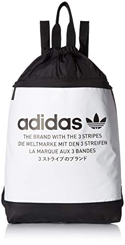 adidas Originals NMD Sackpack, White, One Size