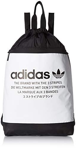 adidas Originals NMD Sackpack, White, One Size