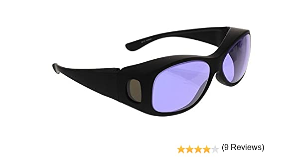 490c6048d81 Ace Didymium Glass Working Spectacles in Over Eyewear Plastic Safety Frame  - - Amazon.com