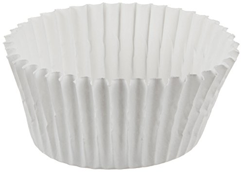 Bon Bon Baking Cups - Cybrtrayd CCUPW-5-1000 Candy Cups, 5, White
