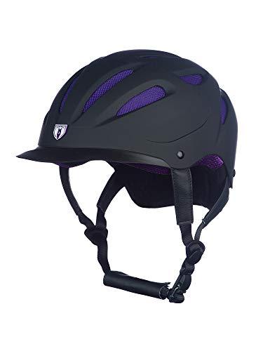 Tipperary Sportage Hybrid Helmet L Black/Purple ()