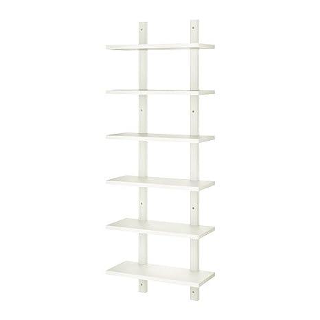 size 40 b184a e6085 Ikea Wall shelf, white 426.14511.1438 - - Amazon.com