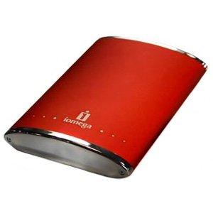 IOMEGA 320GB EGO PRTBL HD DFD USB 2.0 RUBY RED - 34372