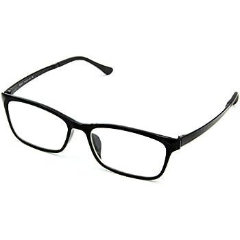 cd449932250 Cyxus Computer Glasses Blue Light Blocking (Ultem Lightweight flexible)  Reduce Eyestrain Headache Sleepbetter (black)