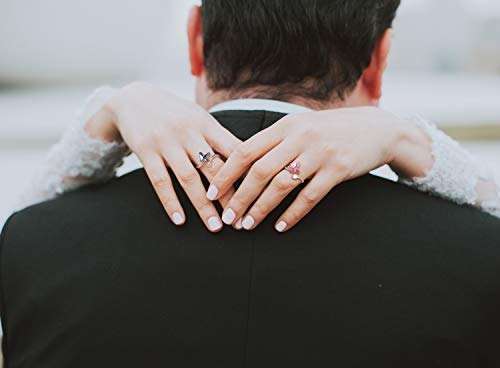 SUE'S SECRET Swarovski Element Ring Blue Love Butterfly Stone with Swarovski Crystal, Ajustable M Size, Fashion Love Gifts by SUE'S SECRET (Image #4)