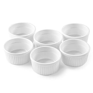 Bellemain 4 oz. Porcelain Ramekins, Set of 6