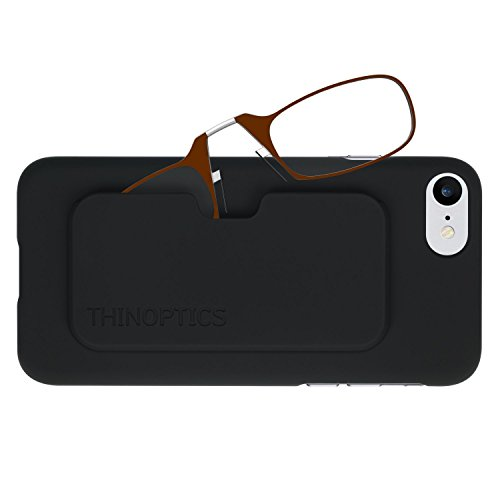 ThinOptics Reading Glasses + iPhone 8 or iPhone 7 Case | Purple Frames, 1.50 Strength from ThinOptics