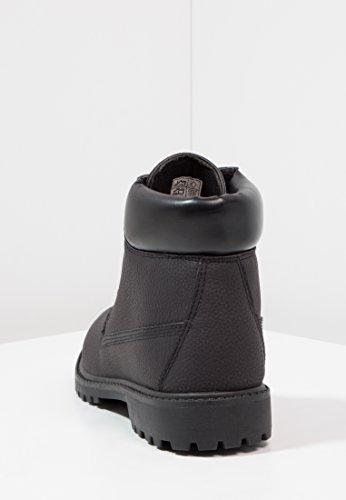 Noir Rembourrées Lacets Cuir À Yourturn Bottines De Avec Boots Aspect Semelles Pour Confort Automne Camel Haute Hommes Gris hiver Ou Qualité Noir En Homme 7pTY1wqT