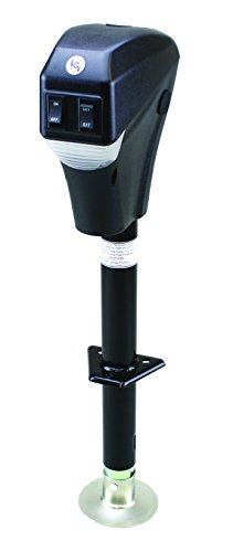 Lippert 285318 3500LB Power Tongue Jack Black