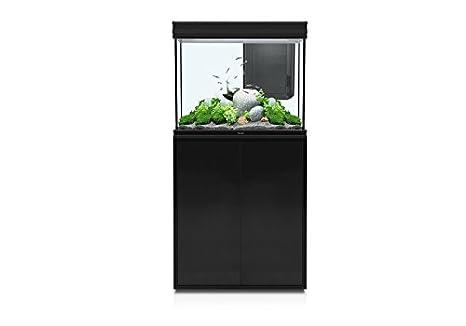 Aquatlantis Acuario + mueble Fusion LED 228L 70 x 50 x 65 negro: Amazon.es: Productos para mascotas