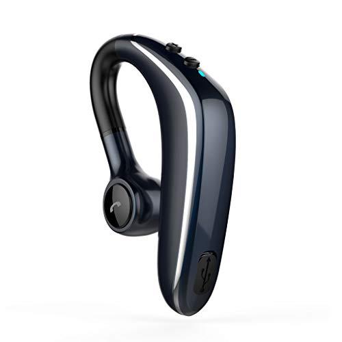 Sacow Sport Earphone, HiFi Universal Bluetooth 5.0 Wireless Headset Stereo Headphone (Blue)