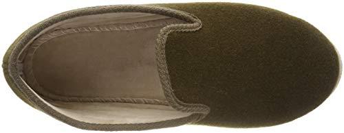 39 Pantofole Chancenie Mouton Unisex Adulto A 4400120 Verde Chausse Stivaletto Chaussee kaki wPtxFqnSSA
