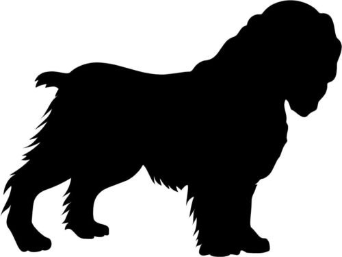 Cocker Spaniel Dog Vinyl Decal Car Window Wall Laptop Sticker, Die cut vinyl decal for windows, cars, trucks, tool boxes, laptops, MacBook - virtually any hard, smooth surface