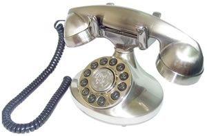 PARAMOUNT Alexis 1922 Decorator Phone - Silver / PMT-ALEXIS-SV - Decorator Alexis Phone