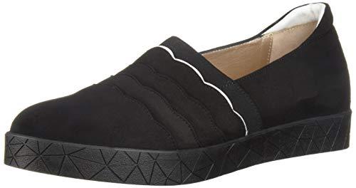 Black Reeve Sneaker Women's Suede White BeautiFeel 6tgSOqwg