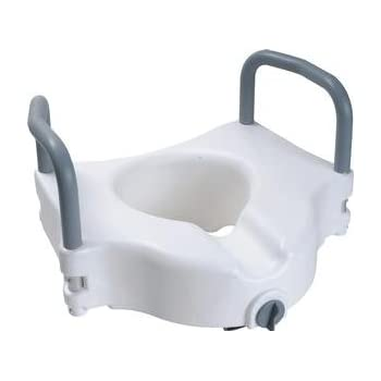 Amazon Com Zchrts01ea Raised Toilet Seat With Arms And