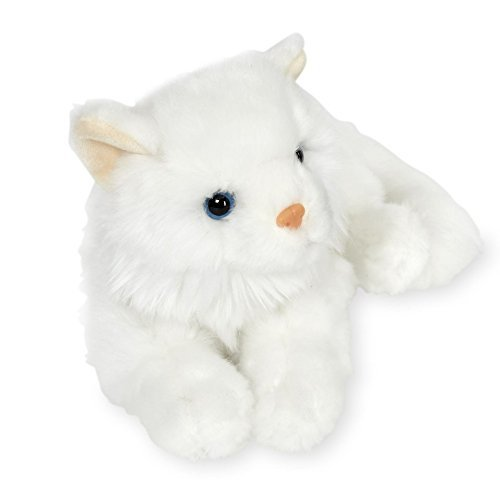 Animal Alley 11 Inch Lying Stuffed White