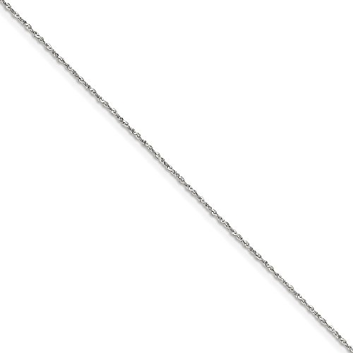 Gold Serpentine Chain (Solid .925 Sterling Silver 1mm Twisted Serpentine Chain Necklace 24 inches)