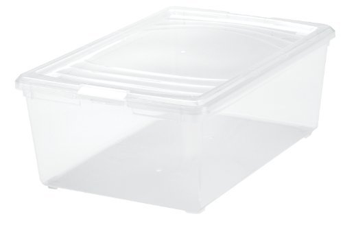 5 QT MCB-S Clear Shoe Box - 5 Pack ()