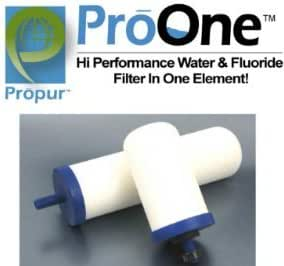 "ProPur ProOne G 2.0 - 7"" Filter Elements for BIG Propur system (one pair)"