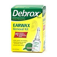 Debrox Earwax Removal Kit kit product image
