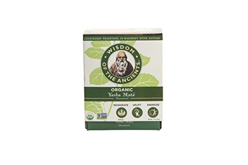 Wisdom of the Ancients Organic Yerba Maté Tea Bags, 1.1 oz ()