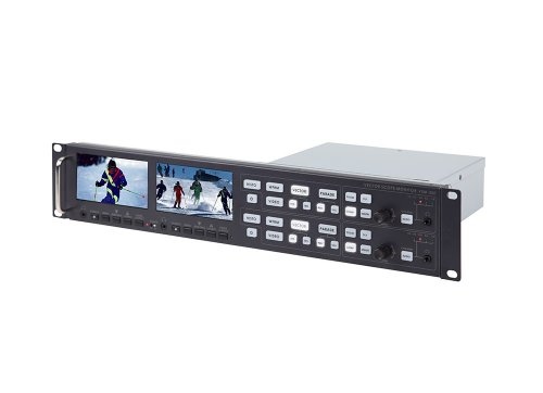 Datavideo VSM-200 | Dual Sampling Vector Scope Monitor HD/SD SDI Inputs and HDMI Outputs