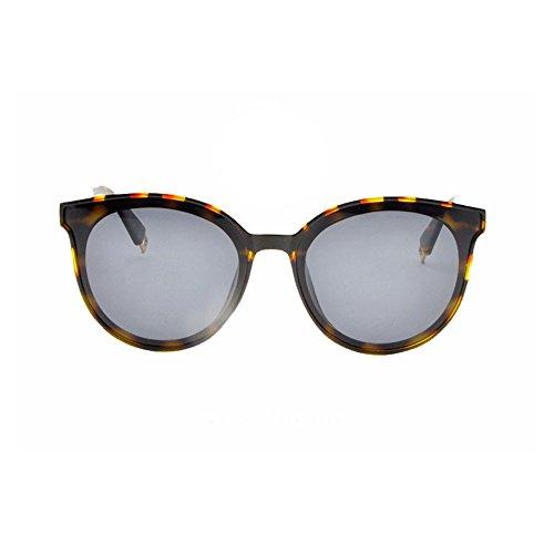 antideslumbrante de de sol de polarizadas libre de Gafas con es al polarizadas luz montura gafas conducir muje sol gafas completa conducir para La adecuada y para aire antivibratorias Black Grain sol Gafas para Leopard XxTqxdFw