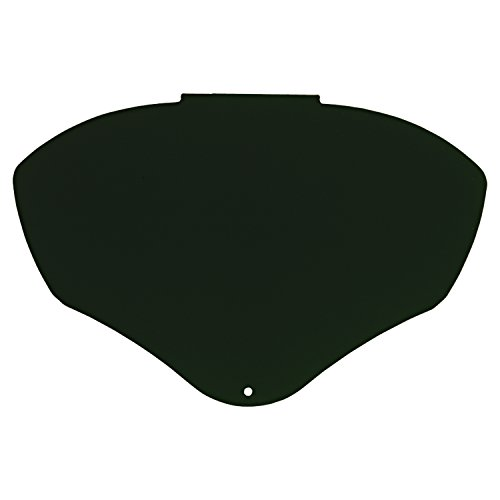 Shield Bionic Face (Uvex by Honeywell S8565 Bionic Face Full Shield Replacement Visors, Uncoated/Shade 5.0)