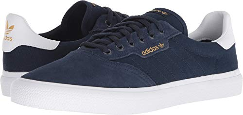 adidas Skateboarding Men's 3MC Collegiate Navy/White/Collegiate Navy (Suede) 8 D ()