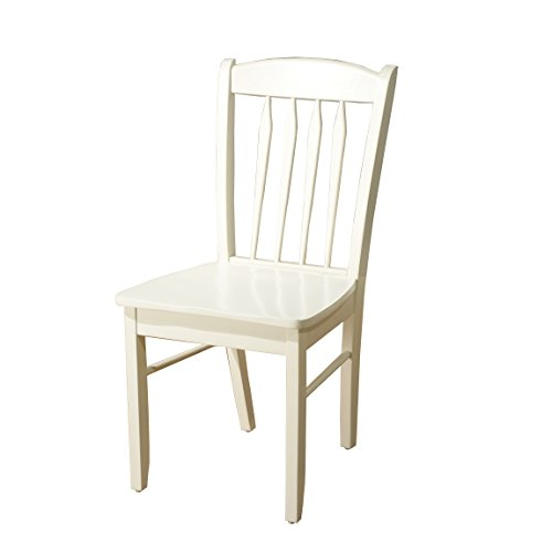 Target Marketing Systems 33418WHT Savannah Dining Chair, White