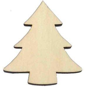 Alberi Di Natale In Legno Amazon.10 Decorazioni Per Albero Di Natale In Legno Plain Wood
