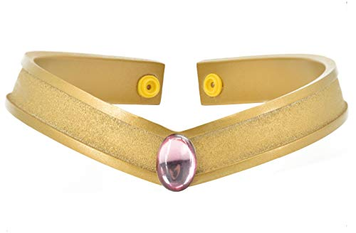DAZCOS Gold Cosplay Tiara Queen Headwear Props Resin (Chibi -