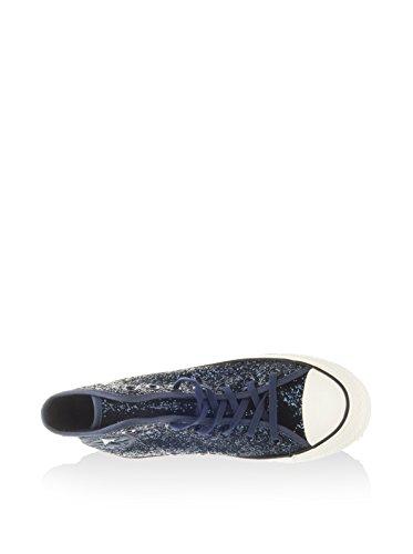 Sneaker Glitter Blu Star Scuro Hi Donna Tex Converse Alte All 7XTPTC