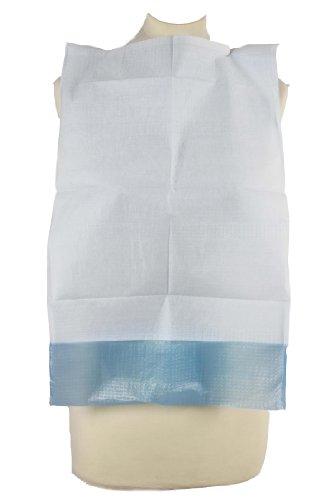 Einmal Esslätzchen mit Auffangtasche ca. 66x37cm Servietten Einmal- Einweg- Lätzchen Schutzservietten 100 Stück