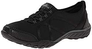 Skechers Women's Relaxed Fit Breathe Easy Fortune-Knit Slip-On,Black,US 5.5 W (B071H4LJQ8) | Amazon price tracker / tracking, Amazon price history charts, Amazon price watches, Amazon price drop alerts