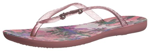 Ipanema Women's Wave Vista Flip-Flop, Pink, 10 M US