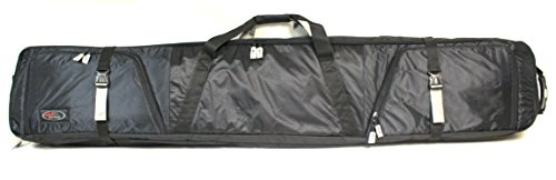 Double Ski Bag w/Wheels - Deluxe by Select Sportbags