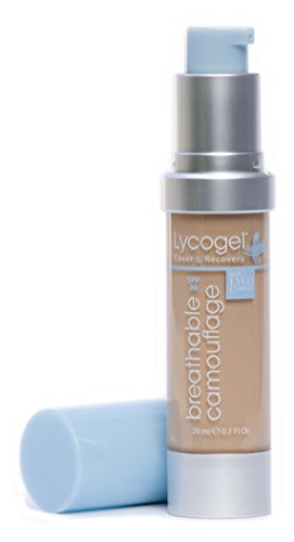Lycogel Breathable Camouflage Foundation SPF 30, Creme, 0.7 Ounce