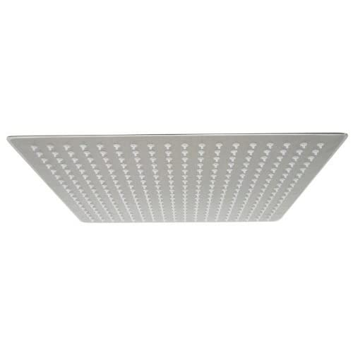 on sale Aquafaucet brand A-7805N 16-Inch Solid Square Ultra Thin Rain Shower Head, Brushed Stainless Steel
