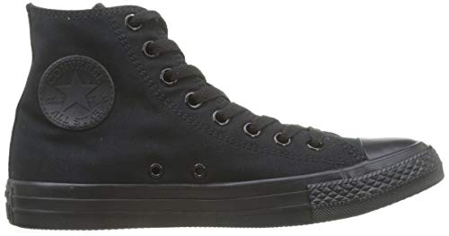 As Charcoal Hi Sneaker erwachsene 1j793 Monochrome Black Can Converse Unisex Pqwd4aP