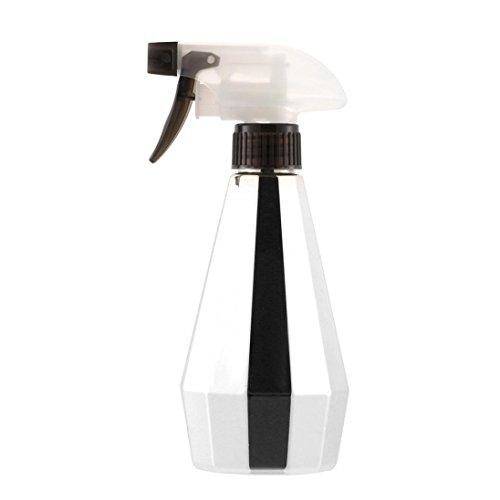 Oldeagle 450ML Stylish Portable Hairdressing Spray Bottle Salon Barber Hair Tools Water Sprayer (D) Vintage Amber Glass Bottle