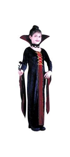 Victo (Victorian Vamp Velvet Child Costumes)