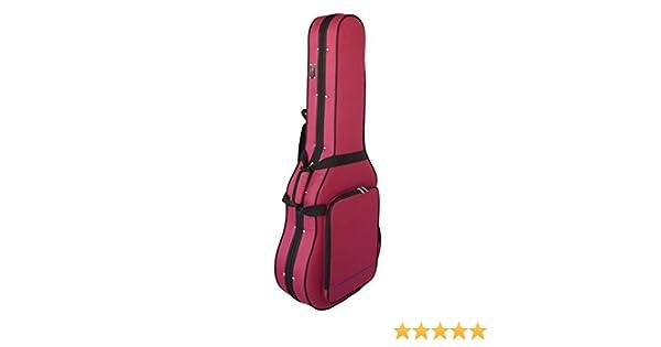 Estuche Guitarra Clásica Superior, Foam, Cibeles (Rojo) CIBELES: Amazon.es: Instrumentos musicales