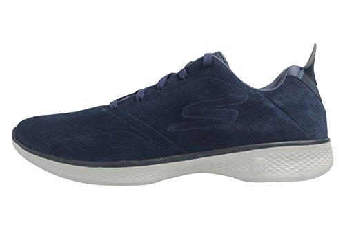 Skechers Go Walk 4, Formateurs Femme NVGY Navy/Gray