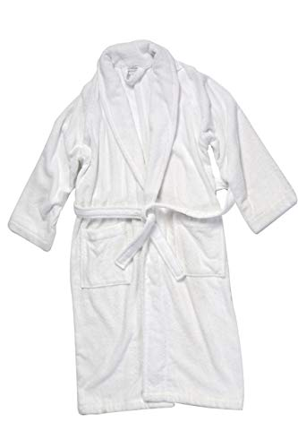 Luxury Terry Cotton Cloth Plush Bathrobe - Premium Cotton Hotel and Spa Robes for Men and Women - Made with 100% Turkish Quality Cotton (XXLarge) by Classic Turkish Towels (Image #5)