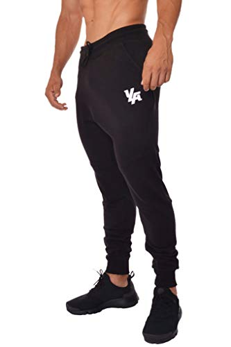 YoungLA French Terry Cotton Sweatpants Jogger Pants Black Large