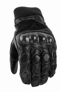 Power Trip Grand National Men's Motorcycle Gloves (Black, X-Large)